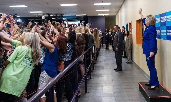 clinton-selfies